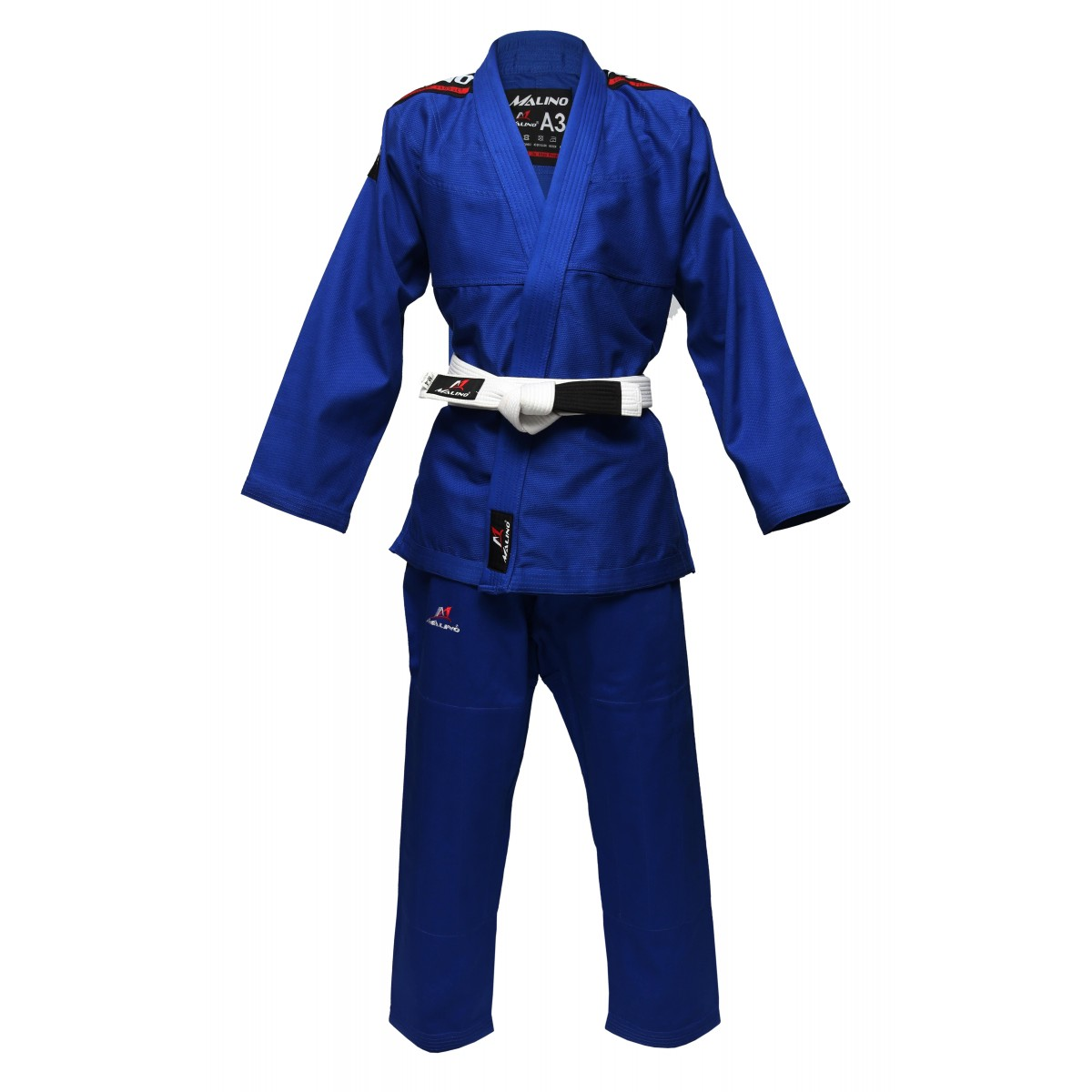 Malino Super Fit Bjj Gi Royal Blue Pearl Weave 350gsm