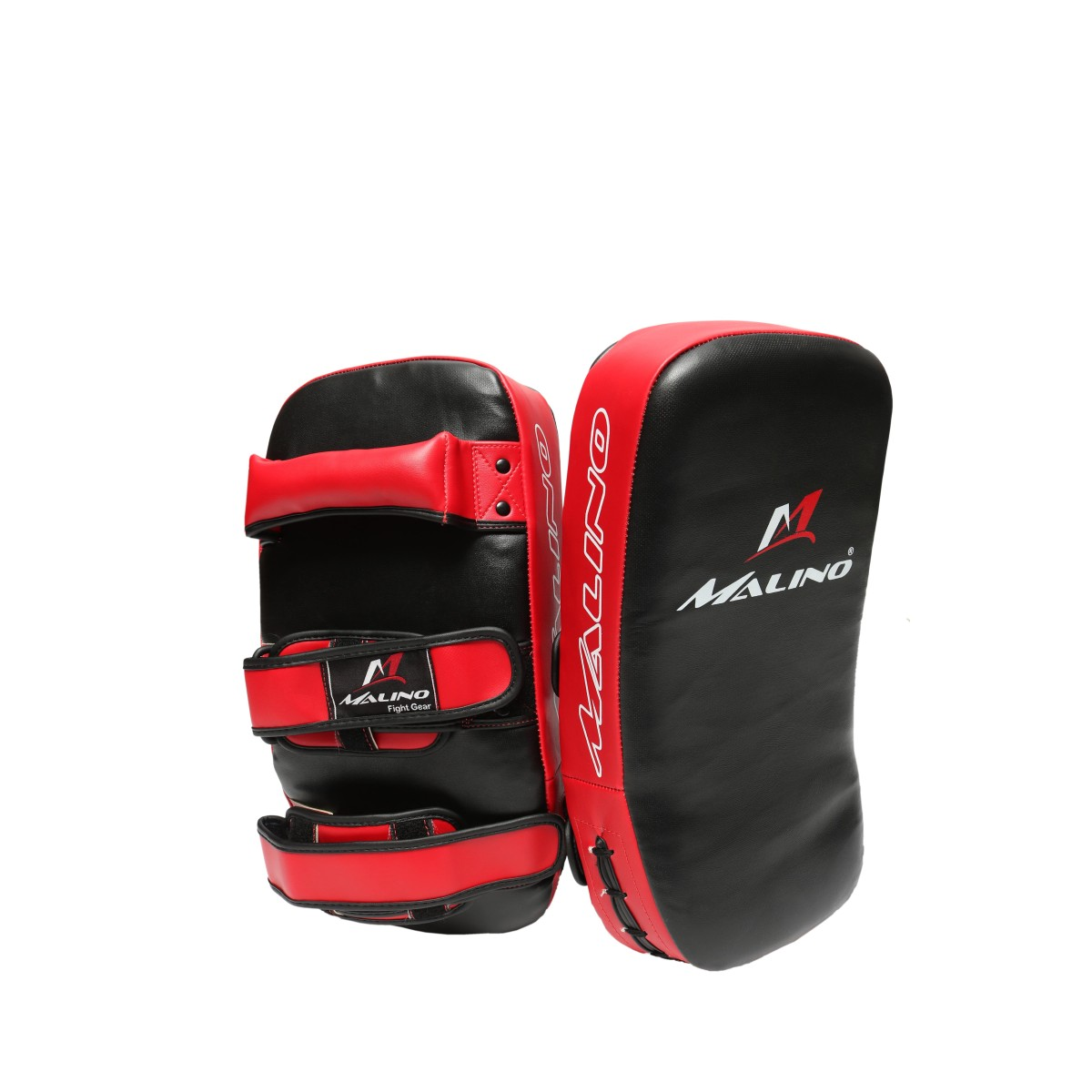 Malino Boxing Martial Art Curved Thai Pad Black Red
