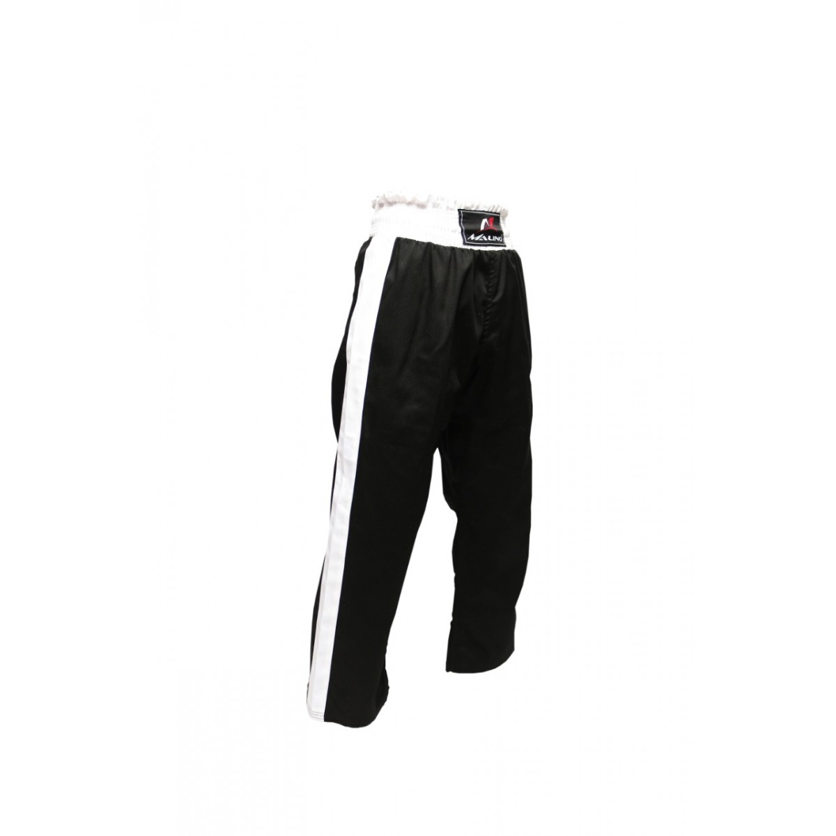 Malino Star Kickboxing Trouser Mix Martial Arts Training Poly Cotton Trouser Black White