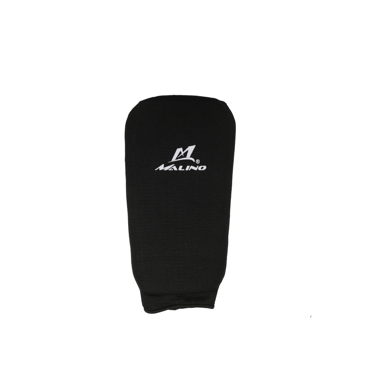 Malino Hosiery Padded Elasticated Black Shin Pad