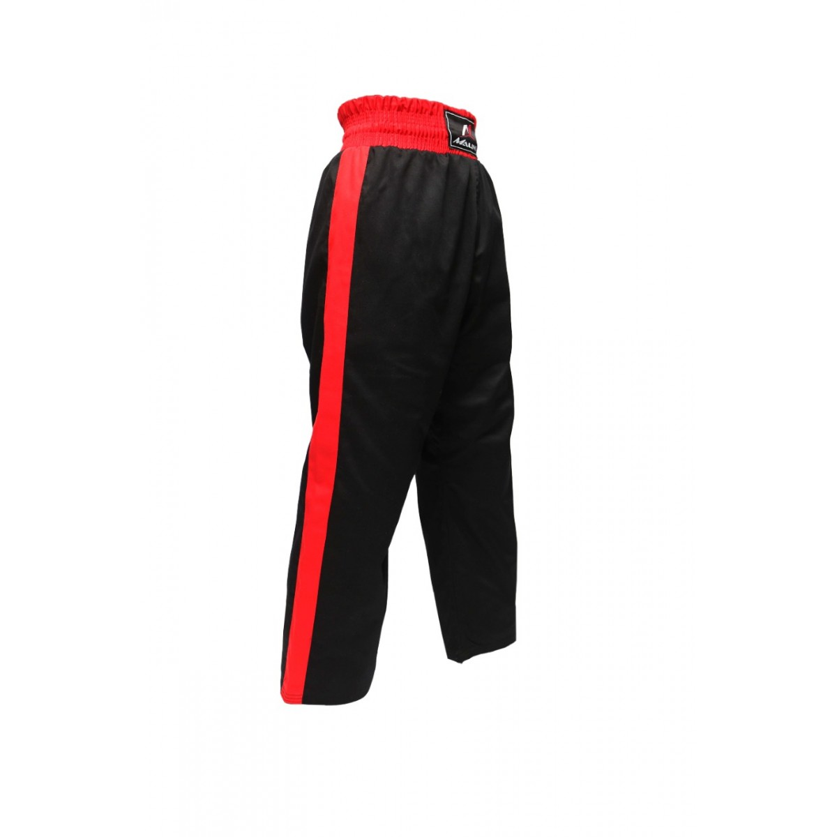 Malino Star Kickboxing Trouser Mix Martial Arts Training Poly Cotton Trouser Black Red
