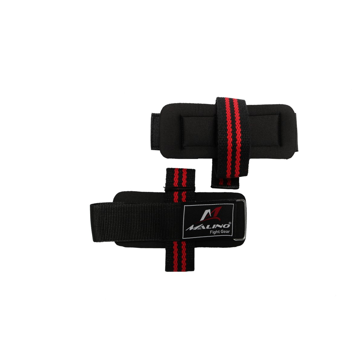Malino Premium Wrist Wrap With Strap Black and Red