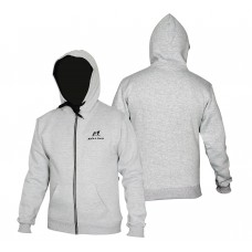 Malino Athletic Zip Up Hoodie Grey