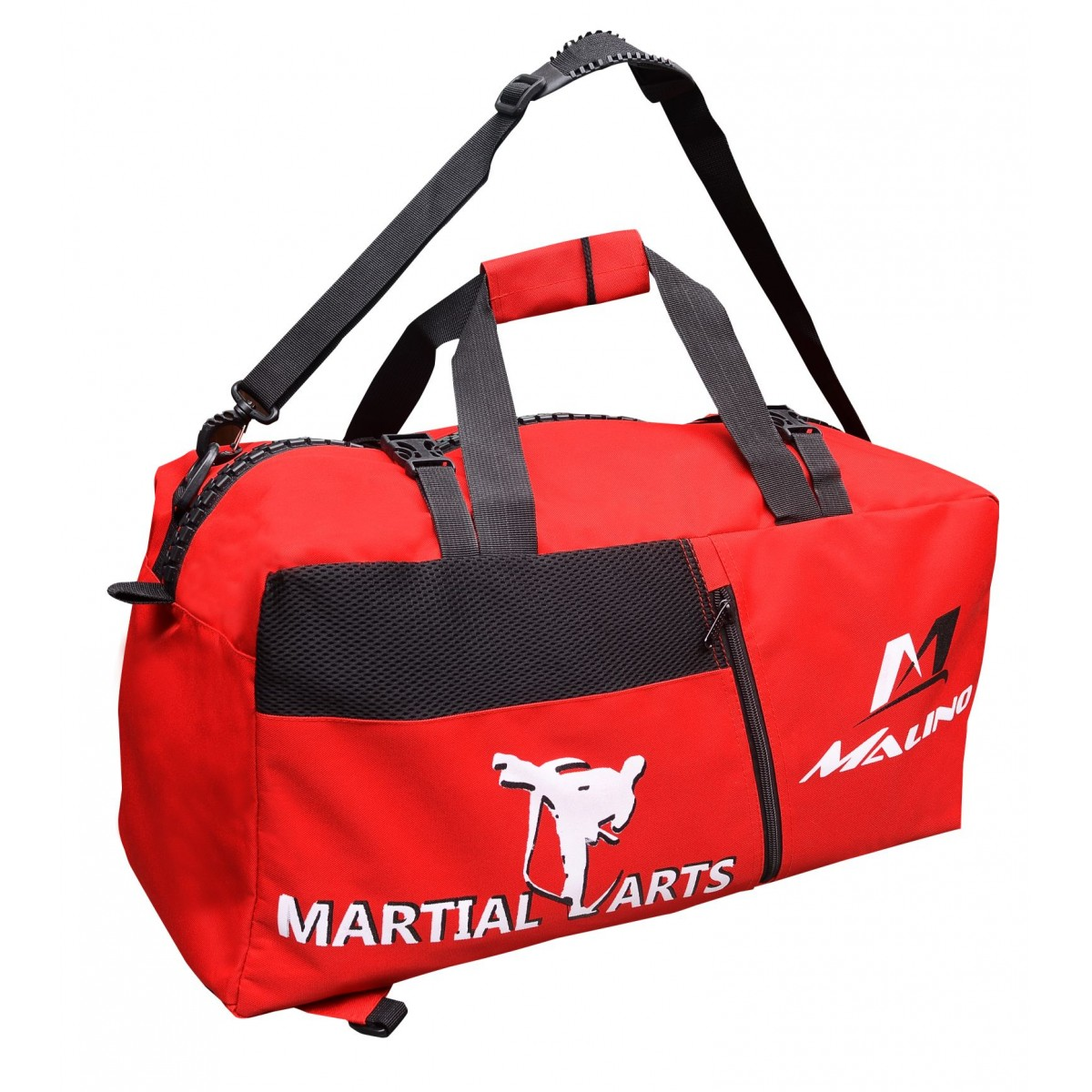 Malino Large Equipment Red Martial Arts Sports Bag