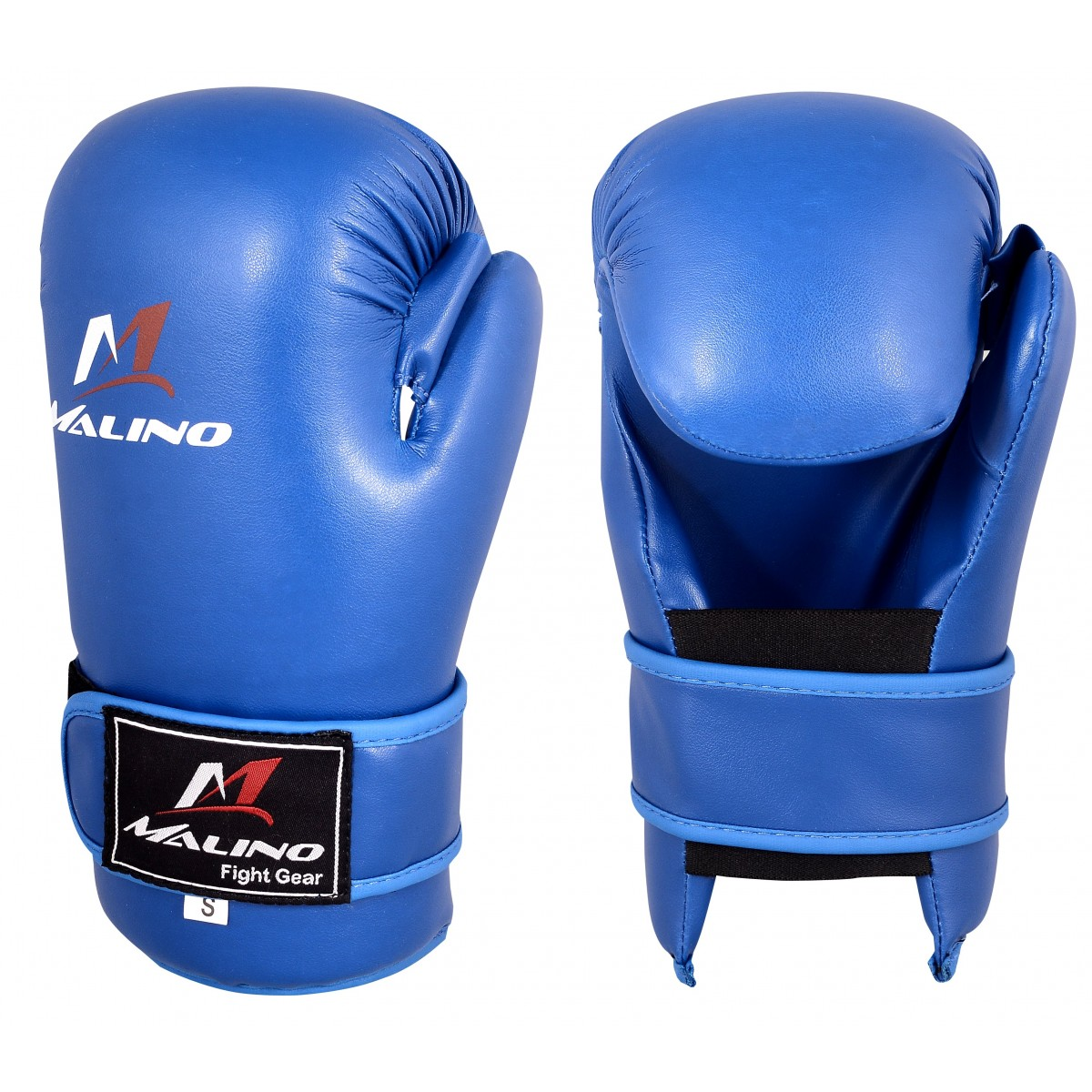 Malino Blue Karate Semi Mitt Without Thumb