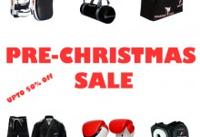 Pre-Christmas Sale on Martial Art Gear, Equipment, Accessories