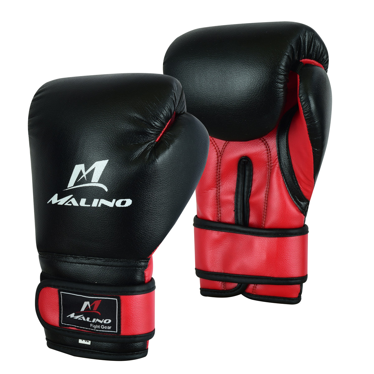 Boxing Gloves for Men Black-Red
