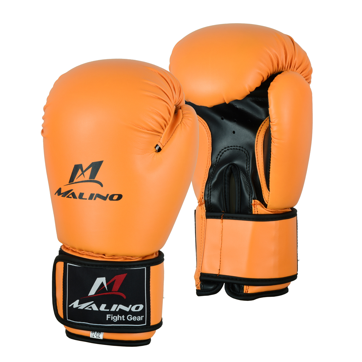 Boxing Gloves for Men Orange-Black