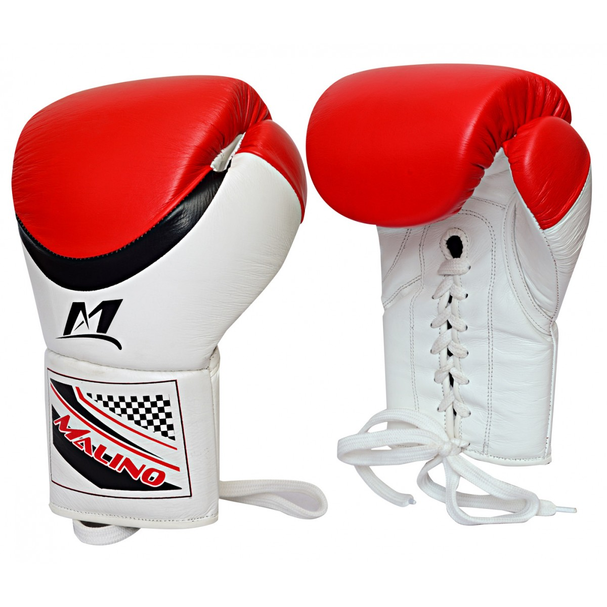 Malino Leather Laces Boxing Gloves for Men
