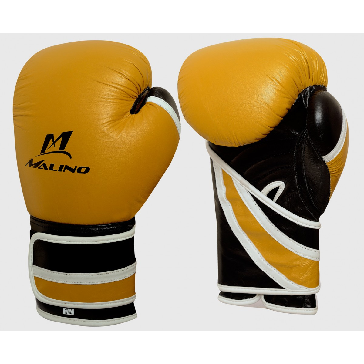Boxing Gloves for Men Yellow-Black-White