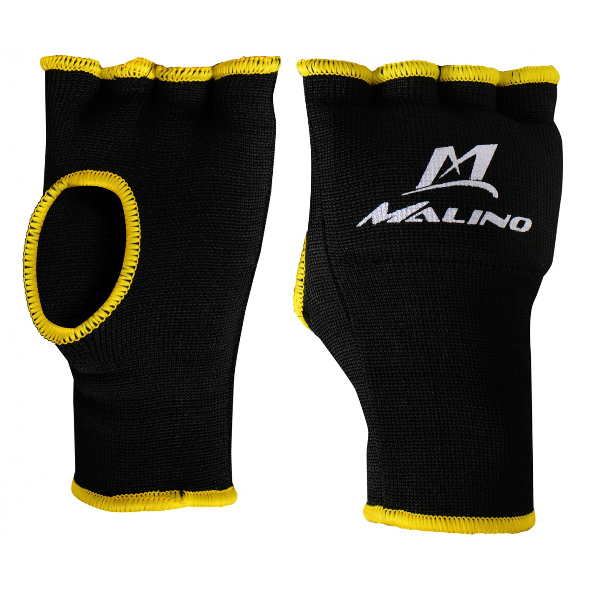 Malino Inner Hand Gloves Black-Yellow
