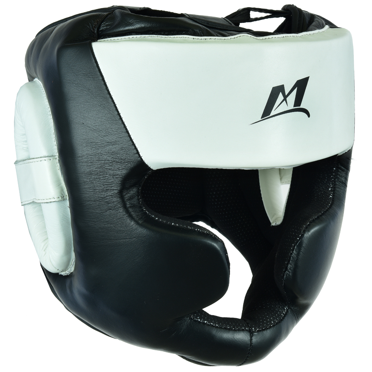 Head Guard Full Face Black-White