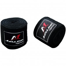 Malino Professional Hand Wraps Boxing Tapes Black