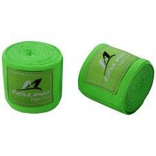 Professional Hand Wraps Boxing Tapes Fluorescent Green