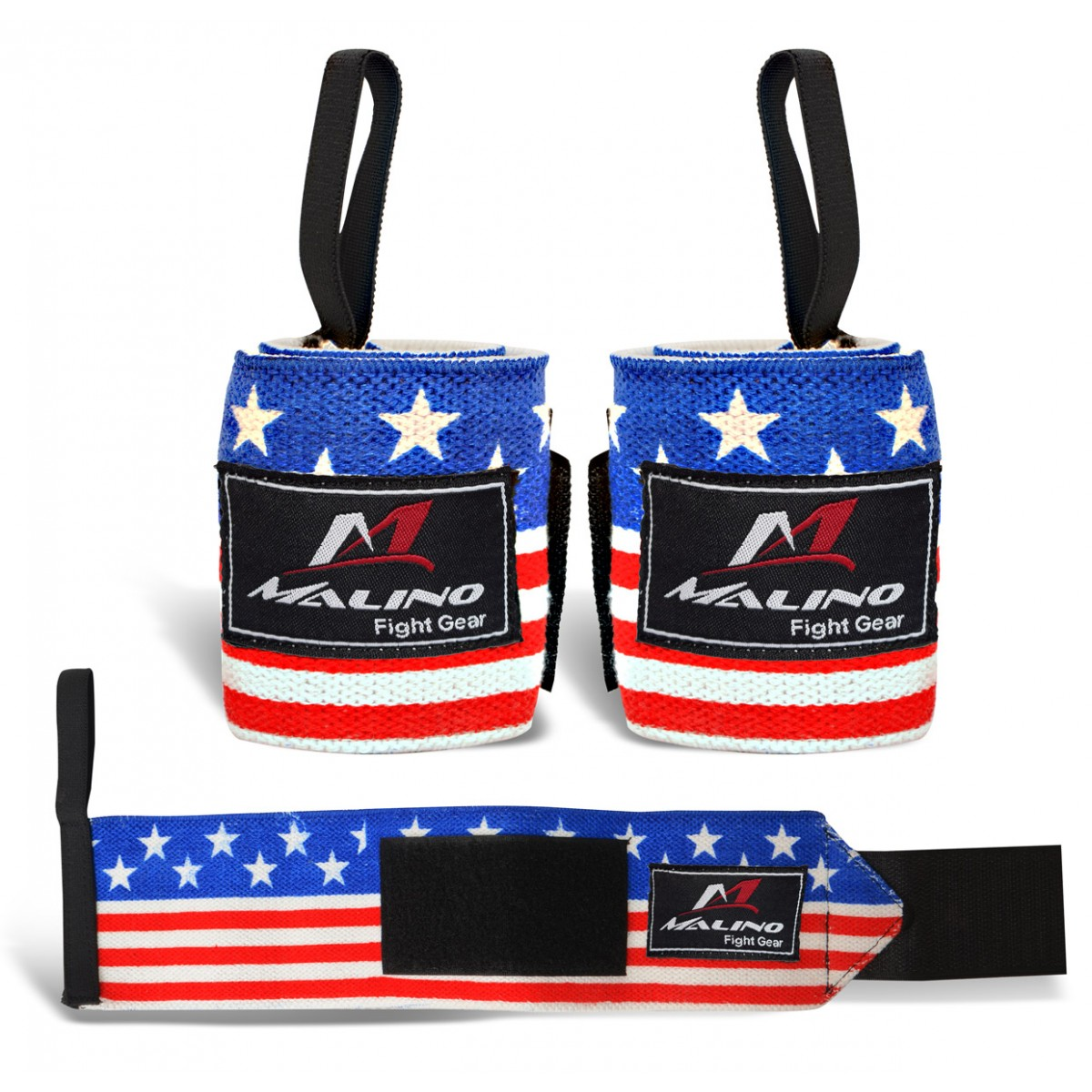 Professional Hand Wraps Boxing Tapes USA Flag