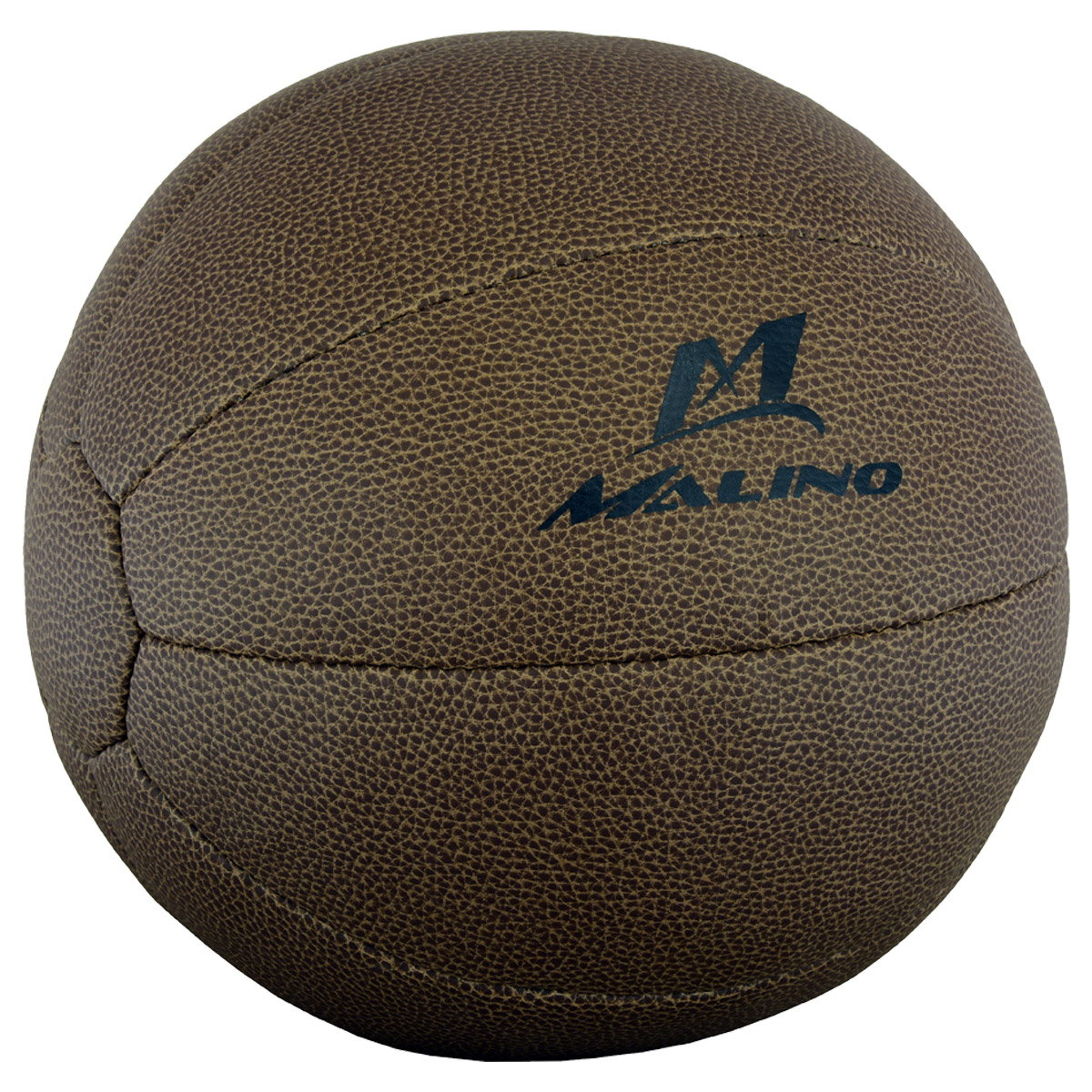Malino Artificial Leather Medicine Ball Dark Brown