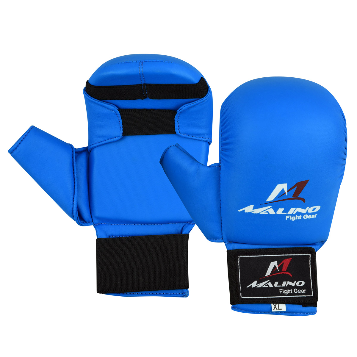 Malino WKF Blue Karate Mitt with Thumb