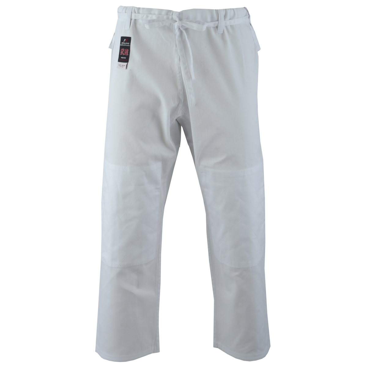 Malino Adult Student Judo Trousers Lightweight Cotton White - 7oz