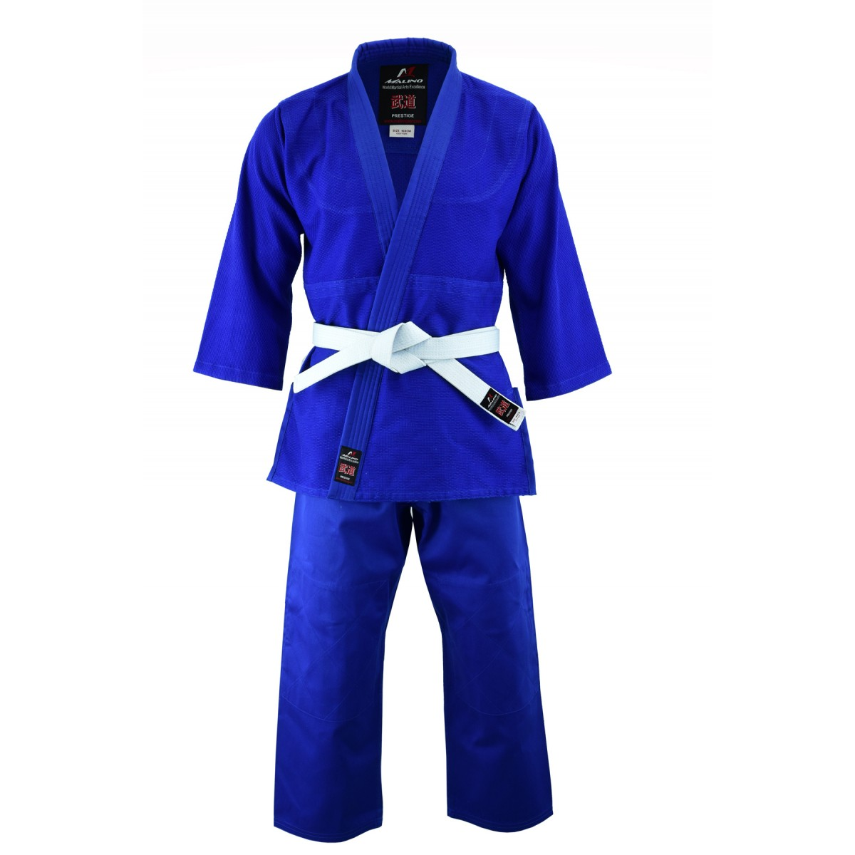Malino Adult Middleweight Judo Suit Blue - 450g