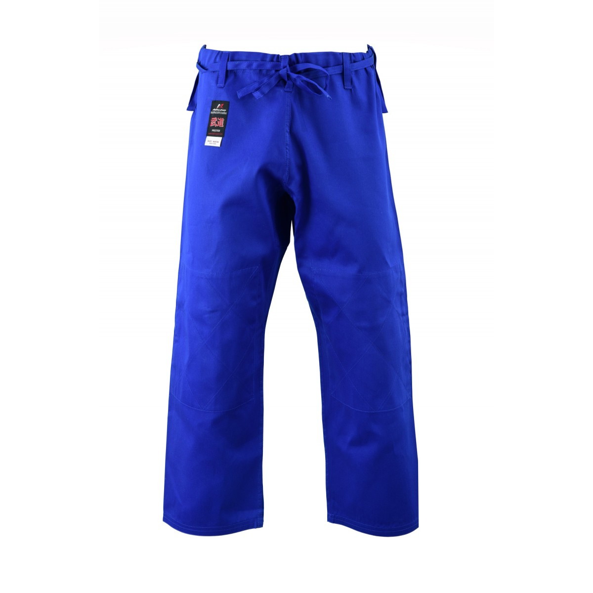 Kids Student Judo Trousers Lightweight Cotton Blue - 7oz