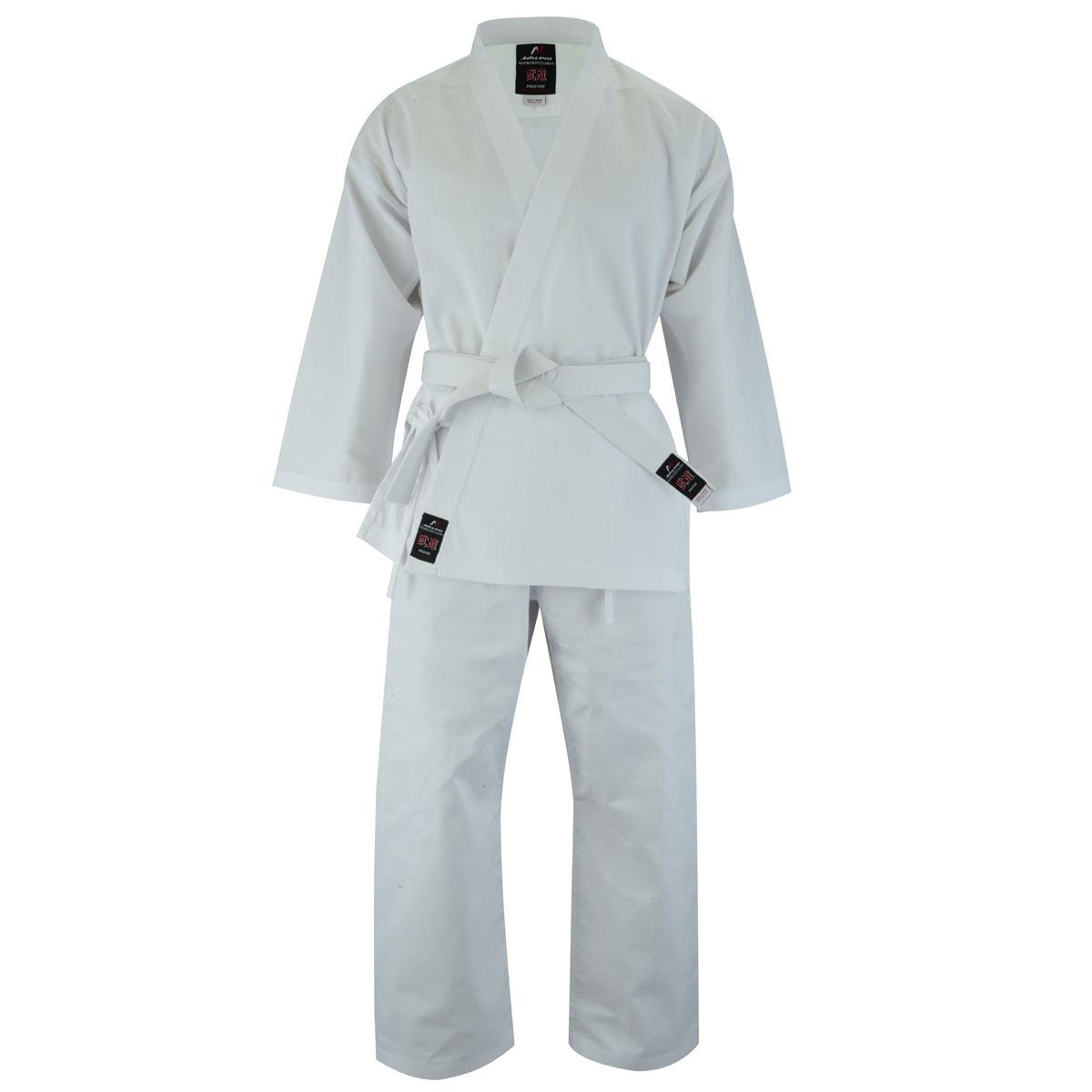 Malino Adult Student Karate Suit White - 7oz