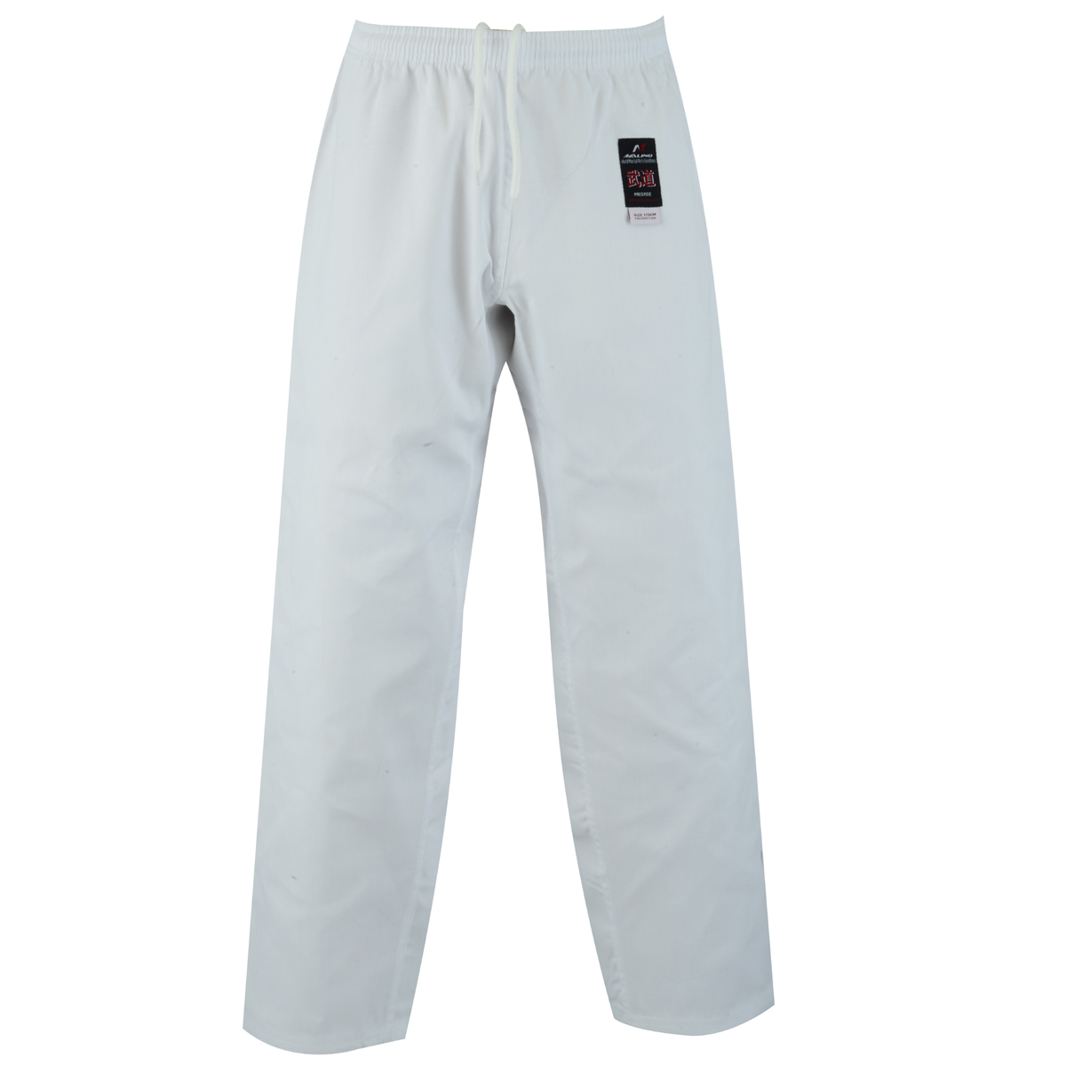 Malino Adult Student Karate Trousers PC White - 7oz