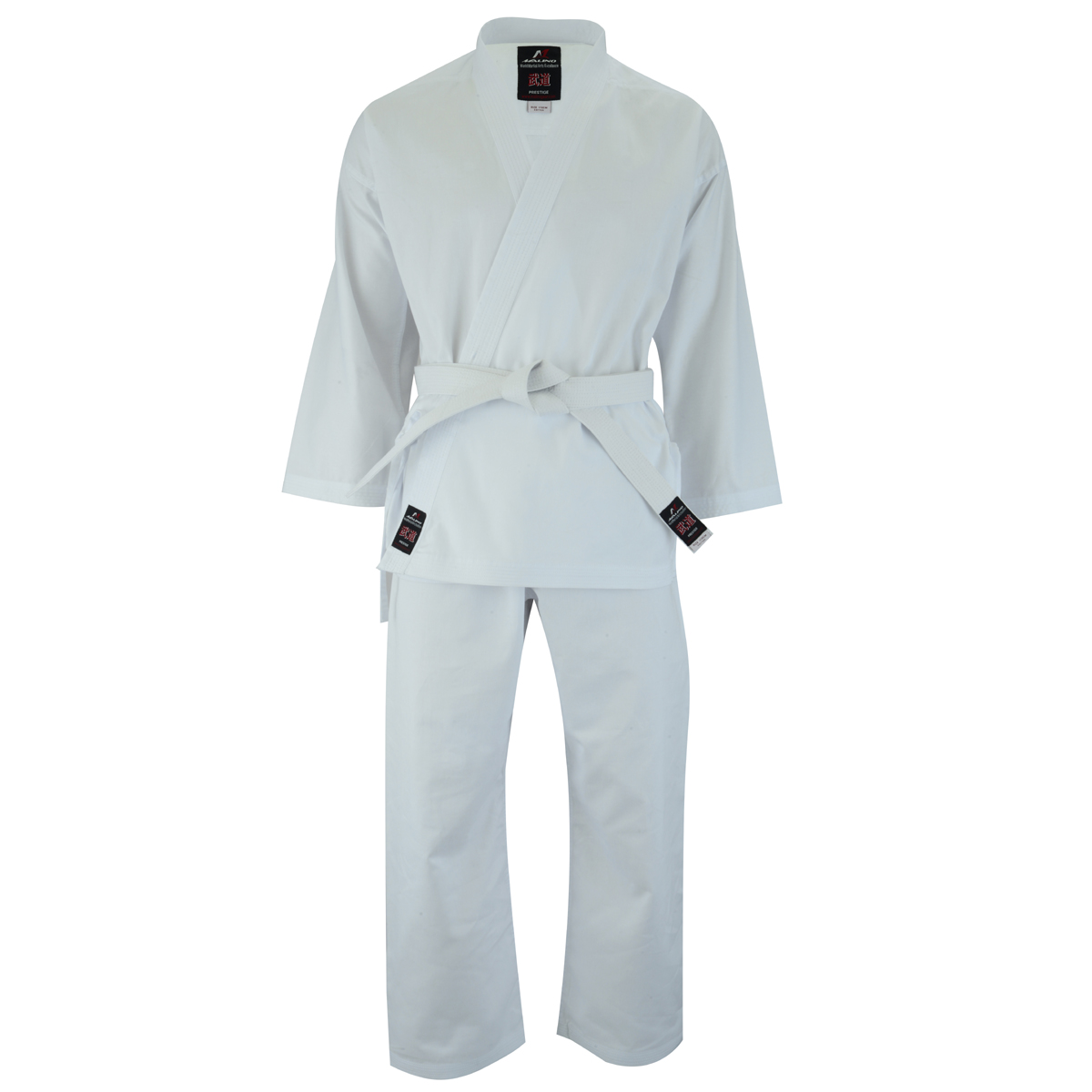 Middleweight Adult Student Karate Suit Cotton White - 8oz