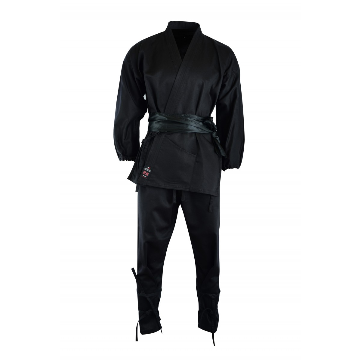 Malino Adult Ninja Suit Cotton Black 8oz