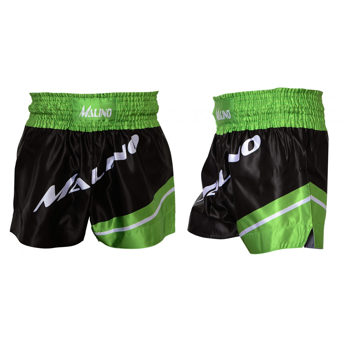 Boxing Shorts for Men Black-Green